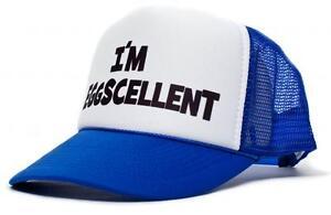 Details about New Curved Bill -The Regular Show- I m Eggscellent Hat Cap  Eggcelent Excellent 7bf426a75f