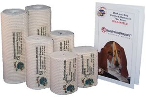 PU Housetraining Wrappers™ Belly Bands 4 Inch Wrappers Mid-Size Dogs