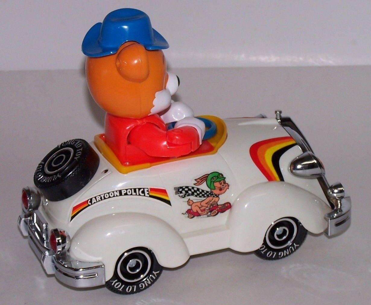 Bear Animal Cartoon Cars Bump N Go Action Requires Batteries Batteries Batteries NIB 1984 3ab40f