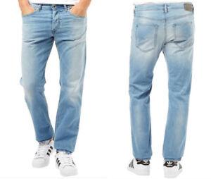 NWT-DIESEL-034-Buster-034-Regular-Slim-Tapered-Jeans-0850V-stretch-34x32-msrp-188-00