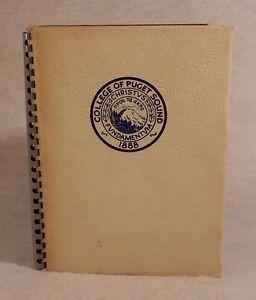 College-Yearbook-University-Of-Puget-Sound-Tacoma-Washington-WA-Tamanawas-1939