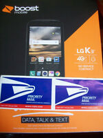 3 Day Boost Mobile Lg K3 4g Lte 4.5 Inch +2 Cams