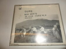 Cd   Dune  ‎– Who Wants To Live Forever (Remixes)  (2)