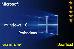Windows-10-Pro-32-64BIT-Professional-Cle-de-licence-Original-code-Scrap-1PC