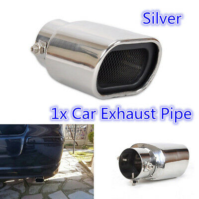 1Pc Exhaust Muffler Tip Fits For Mitsubishi ASX Outlander Sport RVR 2011 2012 2013 2014 2015 2016 2017 Rear Tail Pipe Tip Tailpipe End Trim Cover Protector Car Accessories