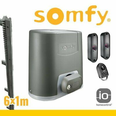 5 m Zahnschiene SOMFY Elixo Smart io Torantrieb Set