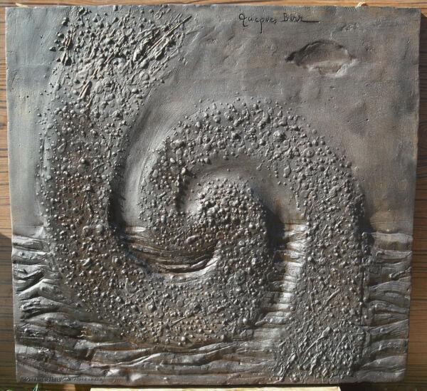 Analytisch Platte Kamin Ee Universum Der -leben By Jacques Birr Cdm 1977 60kg 65 Cm