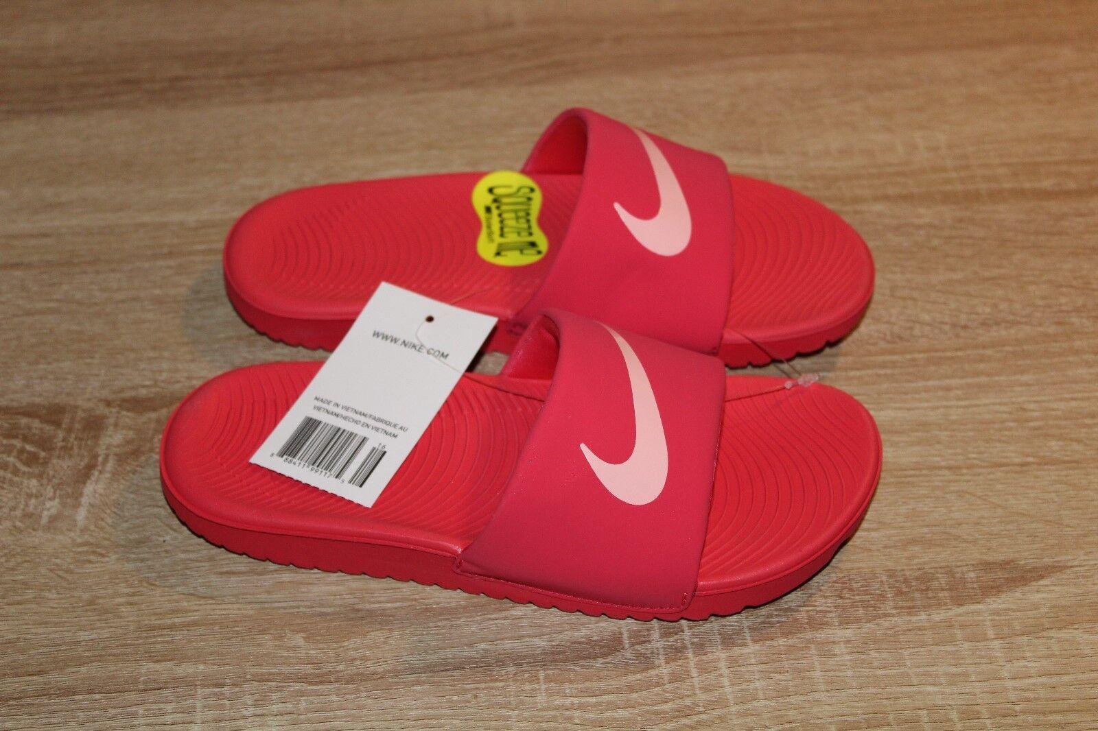 1a9bdb1af25f Nike Kawa Kid Girls Slide Sandals Pink Coral Size 2y for sale online ...