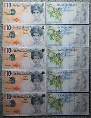 Banksy Di-Faced Replica Tenner Ten Pound Note