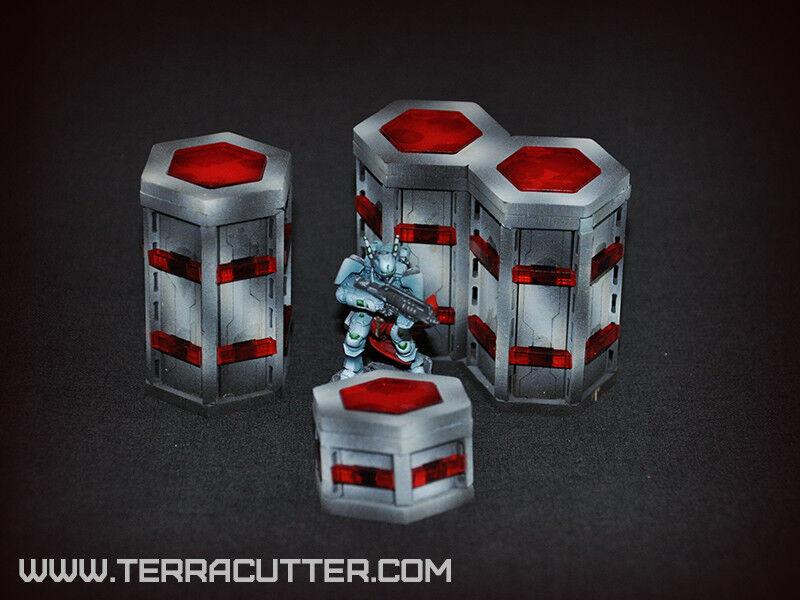 ARISTEIA  SET FULL Terrain. Wargame. Lasercut. Terrain Infinity. Warhammer.