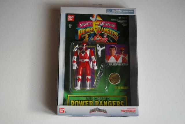POWER RANGERS RED MIGHTY MORPHIN JASON