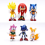 Sonic Shadow Tails Characters Figure Keychains
