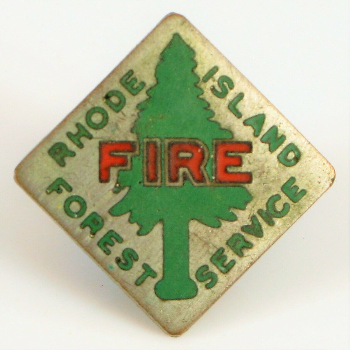 Servicio Forestal Antiguo Rhode Island Esmalte Corbata Tachuela Pin Broche dem ambiental
