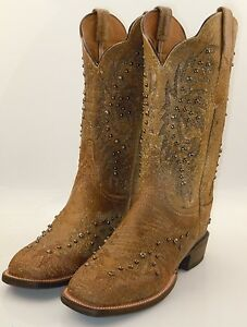 lucchese cy2503 w8s womens studded leather western