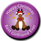 Christmas Badges//Magnets for all your female family /& friends stocking filler!