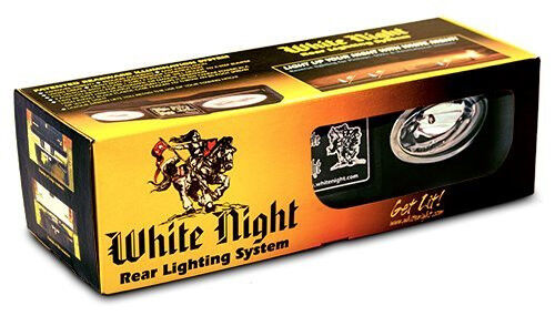 White Night Back Up Rear Tailer Hitch Light 0004199 4199