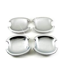 Accessories Chrome Door Handle Base Bowl Covers For 2013-2017 Ford Escape