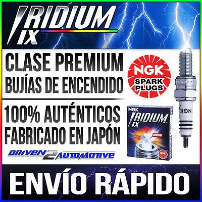 4x NGK IRIDIUM IX Bujías UPGRADE DCPR8EIX 6546 BMW R1200RT 1170 03/05–>09