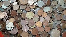 2 KG MIX FOREIGN COINS LOT (10+COUNTRIES COINS)