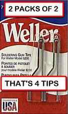 2 Packs Of 2 4 Tips Weller 7135w Solder Tip For 8200 Soldering Gun