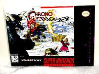Super Nintendo Snes Chrono Trigger Box Cover Photo Wall Poster Decor