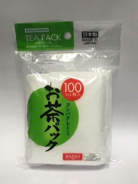 Niles Empty Tea Bags Size Xl 7 In X 3 4 100 Count Disposable Filters