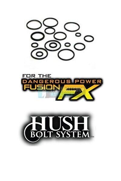 TechT O-Ring Kit Kit Kit pour le DP Fusion FX HUSH bolt fc0a1e