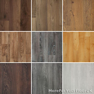 Image Is Loading Wood Plank Grain Effect Vinyl Flooring Quality Lino