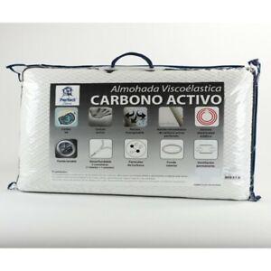 Almohada Viscoelástica CARBONO Activo 3D Aloe-Tex