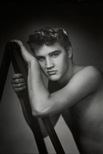 ELVIS PRESLEY BEEFCAKE SHIRTLESS NUDE RARE PHOTO gay interest BUY 2 GET 1 FREE