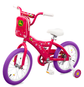 John Deere 16 inch Girls Bicycle  LP53341