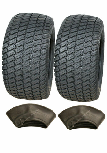 Two 13x5.00-6 4ply tyre /& tubes Multi turf grass /& lawn mower 13 500 6 lawnmower
