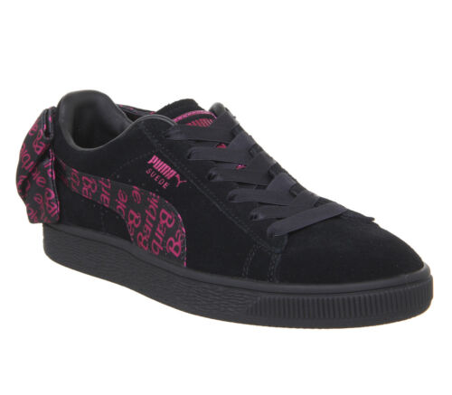 Femmes Barbie Shoes Gold Team Baskets Black En Classiques Puma Daim H29IEDW