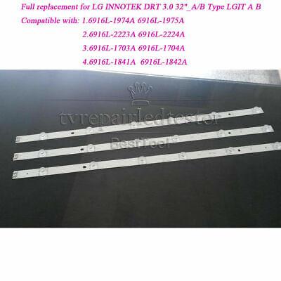 Full Backlight Replacement For Lg Innotek Drt 3 0 32 A B Type Lgit A B Lc320due Ebay