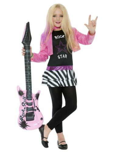 Rockstar Glam Kids Fancy Dress Costume