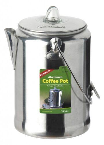 9 tasses Coghlans Aluminium percolator-Café-Cafetière