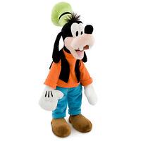 "Disney Store Authentic Patch Goofy BIG Plush Doll 20"" Stuffed Animal Toy Gift"