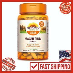 Sundown-Magnesium-500-mg-180-Coated-Caplets-Mineral-Supplement-Magnesium-Vitamin