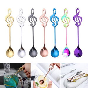 Cookware, Dining & Bar Stainless Steel Rainbow Mermaid Long Handle Tea Spoon Kitchen Cutlery To Suit The PeopleS Convenience Home, Furniture & Diy