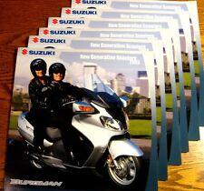 2003 Suzuki Scooter Motorcycle Brochure LOT (6) pcs Burgman 650 400