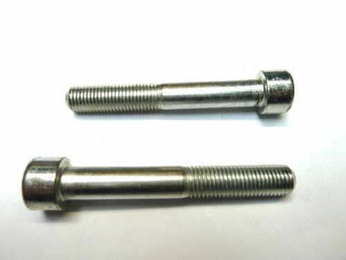M10x1.25x70  fine pitch  DIN912 socket cap head bolts Bright zinc plated BZP