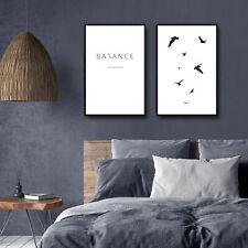 Druck Bild Poster 2er Set Print Kunstdruck Plakat Wandbild Wandposter Rahmen 211