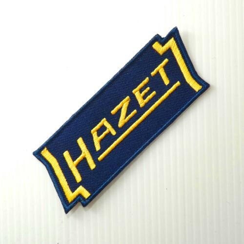 """hazet werk tool accessory embroidered iron on sew patches bag cap 4.0/""""x1 pc"""