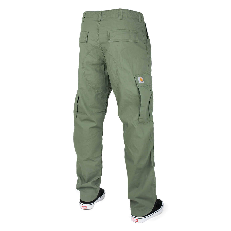 Carhartt Wip Regular Cargo Pant Dollar verde Pantaloni Cargo Columbia Ripstop