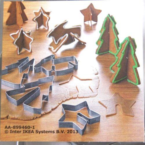 NEU Details about  /IKEA SNÖKUL Ausstecher Plätzchen Ausstechform Backform 3D Weihnachten