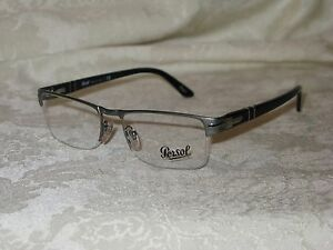 3da1d802c4 Image is loading Persol-Clear-Eyeglasses-New-Made-in-Italy-2374-
