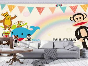 Image Is Loading Homely Smart Monkey Full Wall Mural Photo