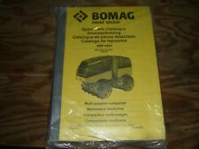Bomag Bmp8500 Trench Compactor Vibratory Roller Factory Parts Catalog Manual