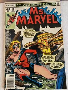 Ms-Marvel-17-FN-6-0-2nd-Cameo-Appearance-of-Mystique