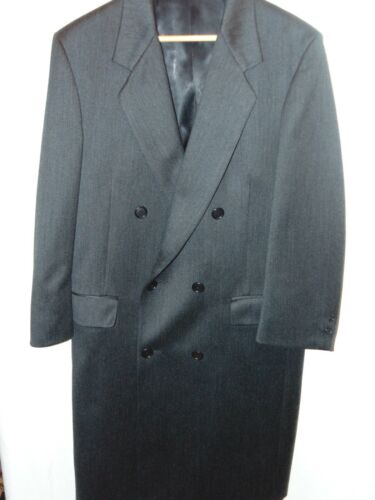 Men's Double Breasted Dress Overcoat